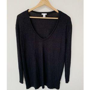 NWOT BP Long Sleeve Black Long Sleeve Top XS